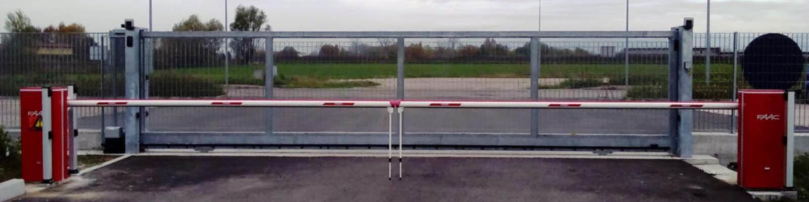 Un cancello installato da SAT Sistemi automatici di apertura